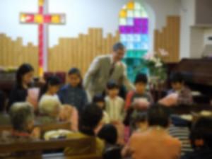 子ども祝福式